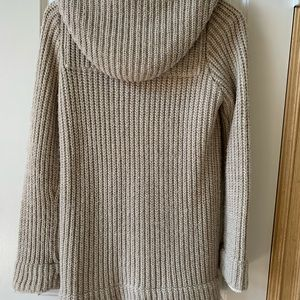 Zara Sweaters - Zara knit sweater with hood